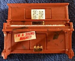 Vintage Acme Sound Magnet Player Piano Plays The Entertainer Works Ragtime