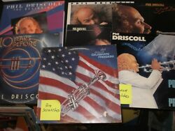 Phil Driscoll Album Lot Vintage 1970and039s-80and039s 7 Records M/nm