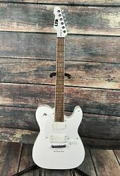 Esp/ Ltd Ted-600t Sw Ted Aguilar Signature Series Electric Guitar - Snow White