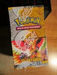 Sealed Spanish Pokemon Hgss Heartgold Soulsilver Card Booster Pack Box 18-packs
