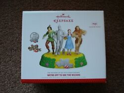 Hallmark Keepsake Ornament 2013 Weand039re Off To See The Wizard The Wizard Of Oz New