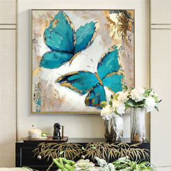2021 Hand-painted Modern Abstract Oil Painting On Wall Art Without Frame Top