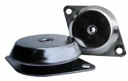 Rs Pro Round M16 Stainless Steel Anti-vibration Mount 800kg Compression Load,155