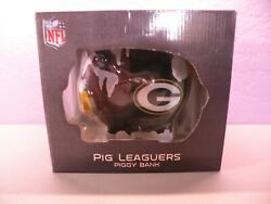 Green Bay Packers Pig Leaguers Piggy Bank Forever Collectibles Nfl New In Box