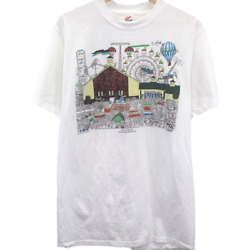 W158 Vintage Jerzees A Day At The Fair Lebanon Shirt Made In Usa Single Stitch
