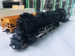Bowser 4-8-2 Prr M-1a Mountain Steam Locomotive With Extras Ho Scale