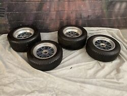 Trigo Shelby 427 Cobra Ii Halibrand Aluminum 6 Pin Knock-off Wheels And Tires