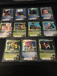 Dbz Dragonball Z Ccg Colossal Redemption Complete Set Cr1-cr11 Promo