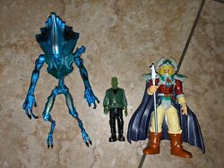 Lot Of 3 Mixed Vintage Toys Yu Gi Oh Independence Day Universal Monster Alien