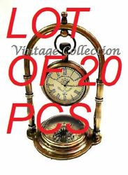Description Beautiful Brass Victorian London Table Top Clock For Home And Office
