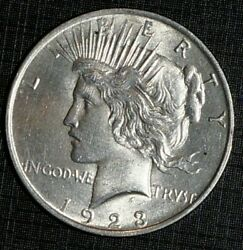 Silver Peace Liberty - 1 Dollar 1923 United States 583m