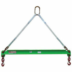 Caldwell 430-3-2 3 Ton Capacity Composite Spreader Beam 2and039 Hook Spread