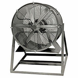 Americraft 30 Steel Propeller Fan With Medium Stand 1 Hp 10400 Cfm