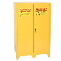 Flammable Liquid Towerand8482 Safety Cabinet With Manual Close 90 Gallon