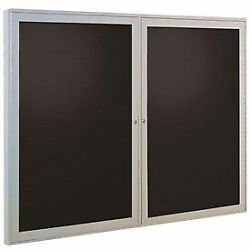 Ghentand174 Outdoor Enclosed Satin Letter Board - 60w X 36h