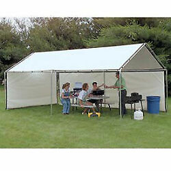Weathershield Portable Canopy White 18and039w X 40and039l