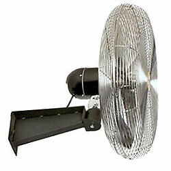 Airmaster Fan 10451k 30 Wall Mount Yellow Safety Fan With Safety Cable 1/3 Hp