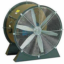Americraft 36 Tefc Aluminum Propeller Fan With Low Stand 3 Hp 18500 Cfm