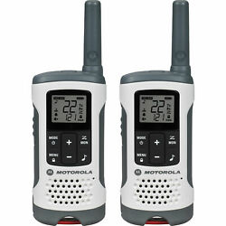 Motorola Talkabout And174 Rechargeable Two-way Radios,white, 2 Pack