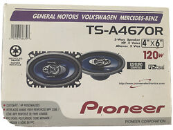 Pioneer Ts-a4670r 3-way 4in. X 6in. Car Speakers System