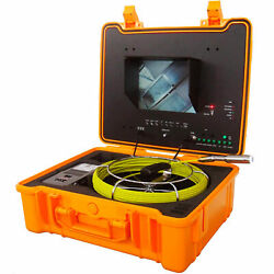 Forbest Luxury Color Sewer/drain Camera, 130' Cable W/ Sonde Transmitter,