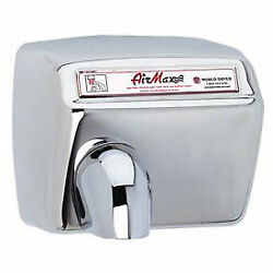 Airmax High Speed Auto 208/230v Dryer, Dxm54-972, Bright Stainless Steel