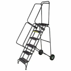 Ballymore Ssfawl-6g 6 Step 16w Stainless Steel Fold And Store Rolling Ladder