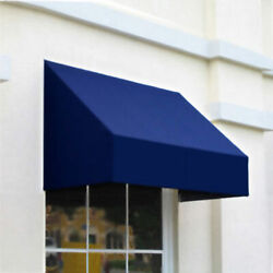Awntech Window/entry Awning 10-3/8and039w X 3-11/16and039h X 2and039d Navy