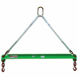 Caldwell 430-1/2-6 1/2 Ton Capacity Composite Spreader Beam 6and039 Hook Spread