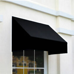 Awntech Window/entry Awning 8and039 4 -1/2w X 4and039d X 4and039 8h Black