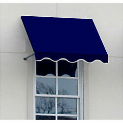 Awntech Window/entry Awning 10-3/8and039w X 4-11/16and039h X 4and039d Navy