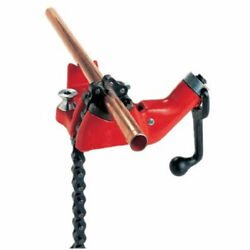 Model No. Bc210 Top Screw Bench Chain Vise, 1/8 - 2-1/2 Pipe Capacity