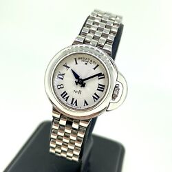 Ladies Bedat And Co No 8 Ref 827 Steel Watch Roman Numerals Box/papers And Warranty