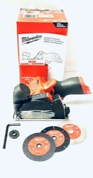 Milwaukee 2522-20 M12 Fuel 3 Cut Off Tool Grinder - Bare Tool Only Brand New