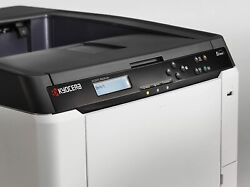 Kyocera Ecosys P6026cdn Color Workgroup Laser Printer Brand New With Toners