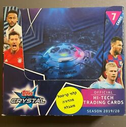 2019/20 Topps Crystal Champions League 24 Pack Box In Hand To Ship From Usa
