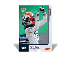 2020 Topps Now F1 1 Pierre Gasly Secures His First Formula 1 Victory At Monza