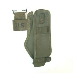 Wwii Us Military M1910 Canvas Pick Mattock Axe Cover Carrier