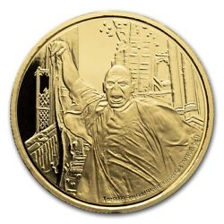 2021 Niue 1 Oz Proof Gold Coin Lord Voldemort - Sku229935