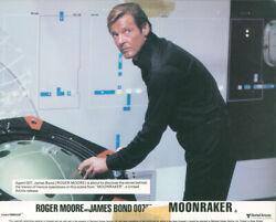 Christopher Wood Writer / Moonraker Set Of Official Film Stills/lobby Cards
