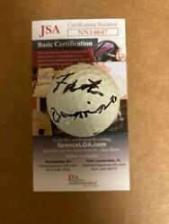 Fats Domino Signed Golf Ball Rock Music Legend Unique Item With Jsa