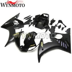 For Yamaha Yzf R6 2003 2004 R6s 2006 07 2009 Gloss Black Matte With Gold Decals