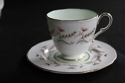 Paragon By Appointment To Her Majesty The Queen Footed Cup And Saucer