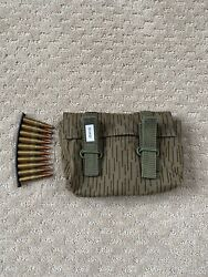 Sks Stripper Clip Ammo Pouch 7.62x39 Holds 6 Or 9 10rd Clips. German Pouch New