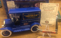 Case Bros And Ertl 1912 Case Brothers Bank With Case Xx Tiny Toothpick Knife