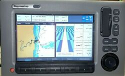 Raymarine C90w Multi Function Display E 62111 Tested W/power Cord-cover