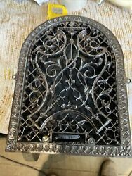 Ted 12 Amazing Antique Arch Heating Grate Wall Mount 11 X 14.75