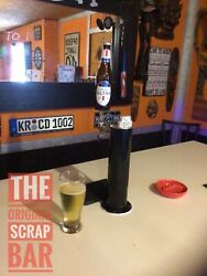 Retro Glass Michelob Ultra Draft Beer Kegerator Tap Handle - Very Cool