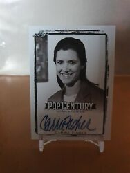 2017 Pop Century Autograph Card Carrie Fisher