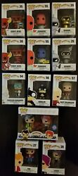 The Ultimate Funko Pop Futurama Complete Set With Billy West Autograph